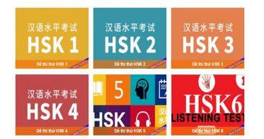 huong dan thi thu HSK online tu 1- 6